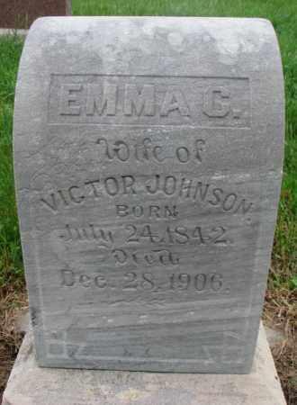 JOHNSON, EMMA C. - Cuming County, Nebraska   EMMA C. JOHNSON - Nebraska Gravestone Photos
