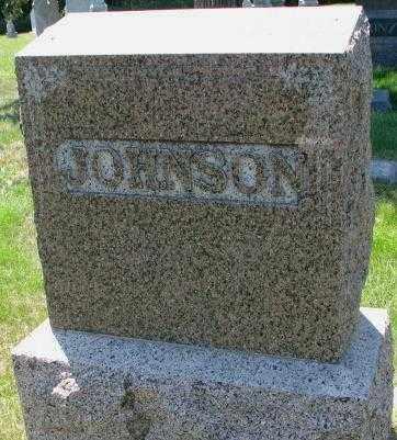 JOHNSON, FAMILY STONE - Cuming County, Nebraska   FAMILY STONE JOHNSON - Nebraska Gravestone Photos