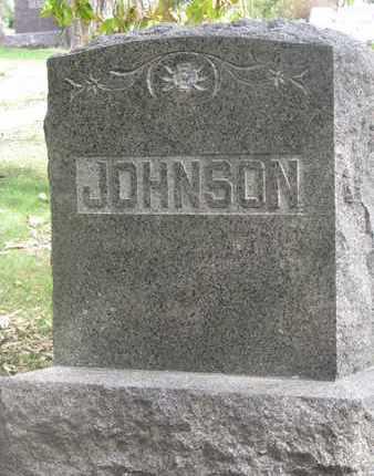 JOHNSON, FAMILY STONE - Cuming County, Nebraska | FAMILY STONE JOHNSON - Nebraska Gravestone Photos