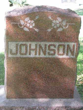 JOHNSON, (FAMILY MONUMENT) - Cuming County, Nebraska | (FAMILY MONUMENT) JOHNSON - Nebraska Gravestone Photos