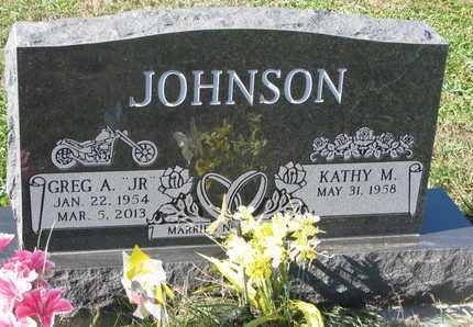 "JOHNSON, GREG A. ""JR."" - Cuming County, Nebraska | GREG A. ""JR."" JOHNSON - Nebraska Gravestone Photos"