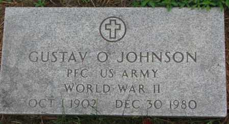 JOHNSON, GUSTAV O. (WW II) - Cuming County, Nebraska | GUSTAV O. (WW II) JOHNSON - Nebraska Gravestone Photos