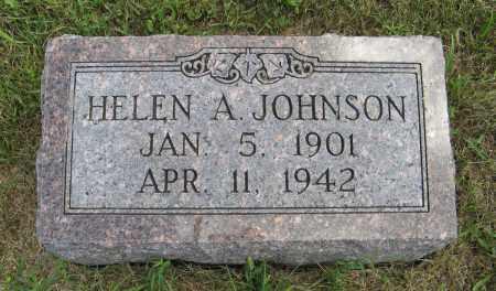 JOHNSON, HELEN A. - Cuming County, Nebraska | HELEN A. JOHNSON - Nebraska Gravestone Photos