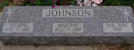 JOHNSON, MARTHA - Cuming County, Nebraska | MARTHA JOHNSON - Nebraska Gravestone Photos