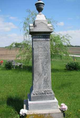 JOHNSON, DAVID - Cuming County, Nebraska | DAVID JOHNSON - Nebraska Gravestone Photos