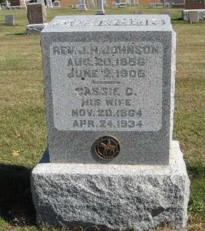 JOHNSON, CASSIE C. - Cuming County, Nebraska   CASSIE C. JOHNSON - Nebraska Gravestone Photos