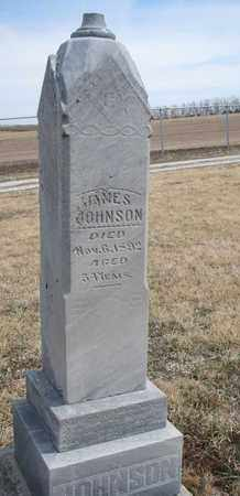 JOHNSON, JAMES - Cuming County, Nebraska | JAMES JOHNSON - Nebraska Gravestone Photos