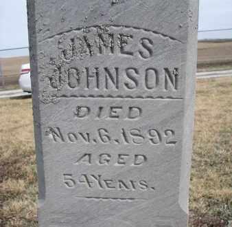 JOHNSON, JAMES (CLOSEUP) - Cuming County, Nebraska | JAMES (CLOSEUP) JOHNSON - Nebraska Gravestone Photos