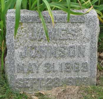 JOHNSON, JAMES - Cuming County, Nebraska | JAMES JOHNSON - Nebraska Gravestone Photos