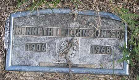 JOHNSON, KENNETH L. SR. - Cuming County, Nebraska   KENNETH L. SR. JOHNSON - Nebraska Gravestone Photos