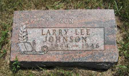 JOHNSON, LARRY LEE - Cuming County, Nebraska   LARRY LEE JOHNSON - Nebraska Gravestone Photos