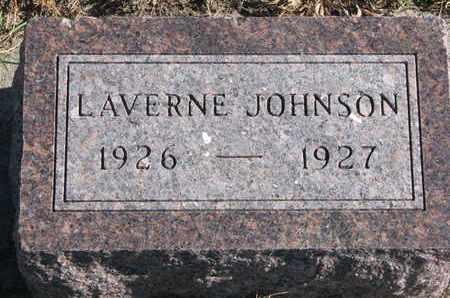 JOHNSON, LAVERNE - Cuming County, Nebraska | LAVERNE JOHNSON - Nebraska Gravestone Photos