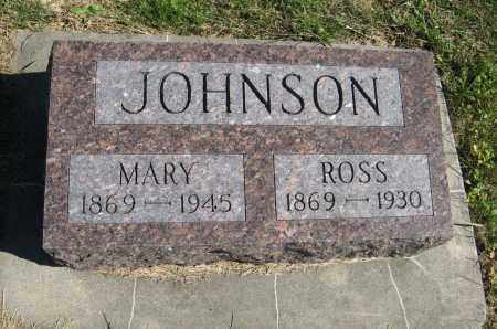 JOHNSON, MARY - Cuming County, Nebraska | MARY JOHNSON - Nebraska Gravestone Photos