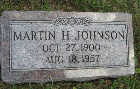JOHNSON, MARTIN H. - Cuming County, Nebraska | MARTIN H. JOHNSON - Nebraska Gravestone Photos