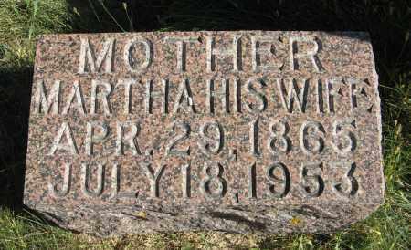 JOHNSON, MARTHA - Cuming County, Nebraska   MARTHA JOHNSON - Nebraska Gravestone Photos