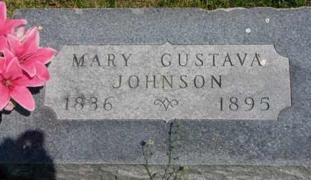 JOHNSON, MARY GUSTAVA - Cuming County, Nebraska | MARY GUSTAVA JOHNSON - Nebraska Gravestone Photos