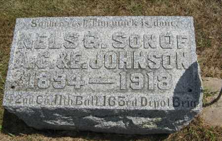 JOHNSON, NELS G. - Cuming County, Nebraska | NELS G. JOHNSON - Nebraska Gravestone Photos
