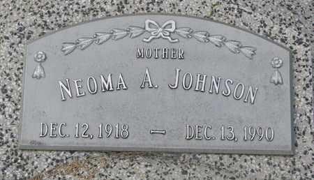 JOHNSON, NEOMA A. - Cuming County, Nebraska | NEOMA A. JOHNSON - Nebraska Gravestone Photos
