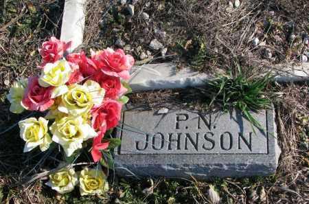 JOHNSON, P.N. - Cuming County, Nebraska   P.N. JOHNSON - Nebraska Gravestone Photos
