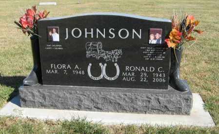 JOHNSON, RONALD C. - Cuming County, Nebraska | RONALD C. JOHNSON - Nebraska Gravestone Photos