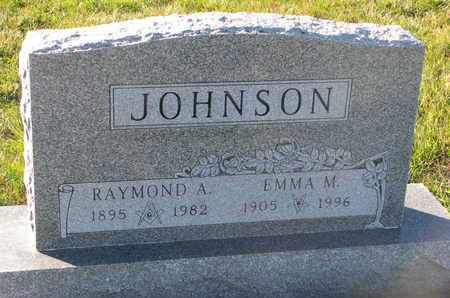 JOHNSON, RAYMOND A. - Cuming County, Nebraska | RAYMOND A. JOHNSON - Nebraska Gravestone Photos