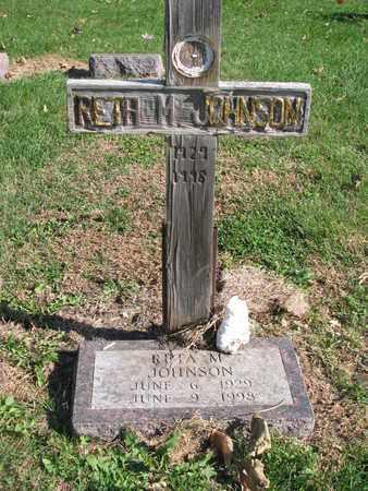 JOHNSON, RETA M. - Cuming County, Nebraska | RETA M. JOHNSON - Nebraska Gravestone Photos