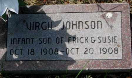 JOHNSON, VIRGIL - Cuming County, Nebraska | VIRGIL JOHNSON - Nebraska Gravestone Photos