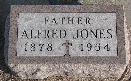 JONES, ALFRED - Cuming County, Nebraska | ALFRED JONES - Nebraska Gravestone Photos