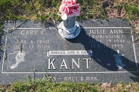 ROBINSON KANT, JULIE AHN - Cuming County, Nebraska | JULIE AHN ROBINSON KANT - Nebraska Gravestone Photos