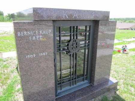 KAUP, BERNICE - Cuming County, Nebraska | BERNICE KAUP - Nebraska Gravestone Photos