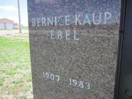 KAUP, BERNICE (CLOSE UP) - Cuming County, Nebraska | BERNICE (CLOSE UP) KAUP - Nebraska Gravestone Photos