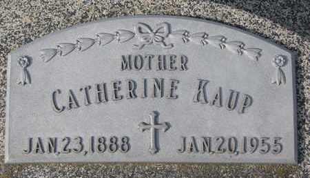 KAUP, CATHERINE - Cuming County, Nebraska | CATHERINE KAUP - Nebraska Gravestone Photos