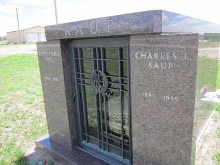 KAUP, CHARLES J. - Cuming County, Nebraska   CHARLES J. KAUP - Nebraska Gravestone Photos