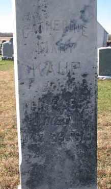 KAUP, CATHERINE MARY (CLOSE UP) - Cuming County, Nebraska | CATHERINE MARY (CLOSE UP) KAUP - Nebraska Gravestone Photos