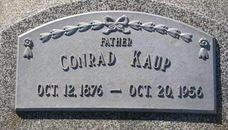 KAUP, CONRAD - Cuming County, Nebraska | CONRAD KAUP - Nebraska Gravestone Photos