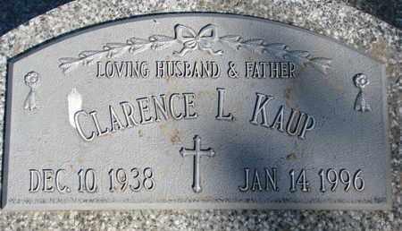 KAUP, CLARENCE L. - Cuming County, Nebraska | CLARENCE L. KAUP - Nebraska Gravestone Photos