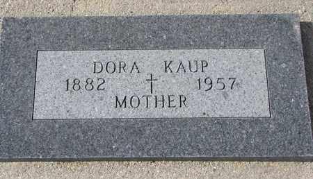 KAUP, DORA - Cuming County, Nebraska | DORA KAUP - Nebraska Gravestone Photos