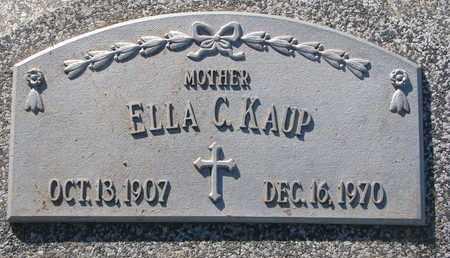 KAUP, ELLA C. - Cuming County, Nebraska   ELLA C. KAUP - Nebraska Gravestone Photos