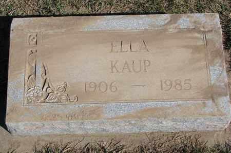 KAUP, ELLA - Cuming County, Nebraska   ELLA KAUP - Nebraska Gravestone Photos