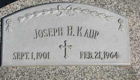 KAUP, JOSEPH H. - Cuming County, Nebraska | JOSEPH H. KAUP - Nebraska Gravestone Photos