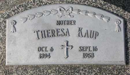 KAUP, THERESA - Cuming County, Nebraska   THERESA KAUP - Nebraska Gravestone Photos