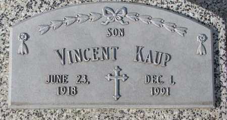 KAUP, VINCENT - Cuming County, Nebraska | VINCENT KAUP - Nebraska Gravestone Photos