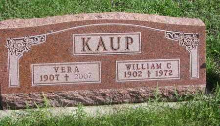 KAUP, WILLIAM C. - Cuming County, Nebraska | WILLIAM C. KAUP - Nebraska Gravestone Photos
