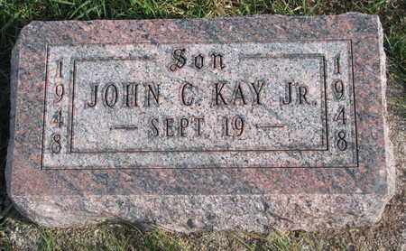 KAY, JOHN C. JR. - Cuming County, Nebraska | JOHN C. JR. KAY - Nebraska Gravestone Photos