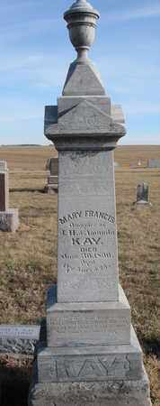 KAY, MARY FRANCIS - Cuming County, Nebraska | MARY FRANCIS KAY - Nebraska Gravestone Photos