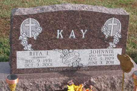 KAY, JOHNNIE - Cuming County, Nebraska | JOHNNIE KAY - Nebraska Gravestone Photos