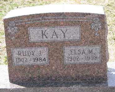 KAY, ELSA M. - Cuming County, Nebraska | ELSA M. KAY - Nebraska Gravestone Photos