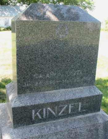ANFIN KINZEL, IDA - Cuming County, Nebraska | IDA ANFIN KINZEL - Nebraska Gravestone Photos