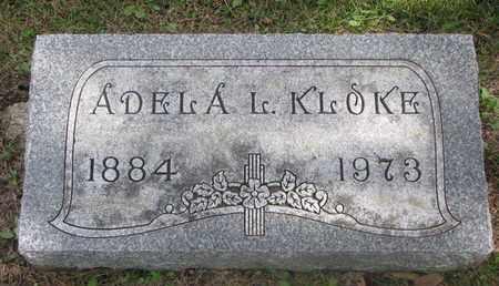 KLOKE, ADELA L. - Cuming County, Nebraska | ADELA L. KLOKE - Nebraska Gravestone Photos