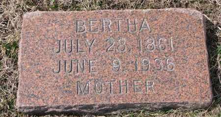 KLOKE, BERTHA - Cuming County, Nebraska | BERTHA KLOKE - Nebraska Gravestone Photos